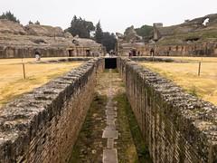 Roman Amphitheater of Italica (ldvphotos) Tags: turismo travel visitspain spain seville sevilla italica itálica anfiteatros anfiteatro