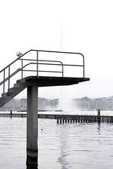 geneve. (anakhorii) Tags: switzerland archidaily architecture minimalism minimalmood minimal canonphotography lake jetdeau geneve geneva
