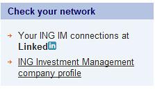 Kandidaten kunnen checken of ze ING-ers via LinkedIn kennen