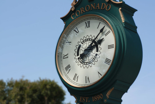 clock in coronado california