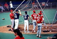 Houston Astros (backup1940) Tags: paul bill baseball bell buddy tony ron dome uniforms players astros 1986 oneill perez cincinnatireds astrodome doran gullickson oester