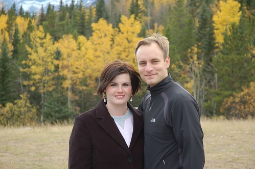 Scott and Erin at Kananaskis Lodge
