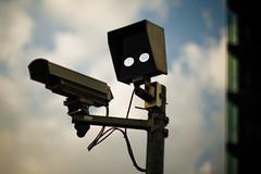 _MG_7094 (floze) Tags: camera observation robot control f14 surveillance authority police 55mm 1984 government bigbrother monitoring regierung polizei staat kamera berwachung roboter kontrolle berwachungskamera tomioka revuenon staatsgewalt gwd