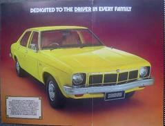 Holden Sunbird (anthonyburt) Tags: sedan brochure holden sunbird