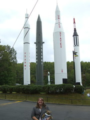 Felicia and me at the Space and Rocket Center
