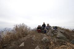 風不死岳登頂記念写真
