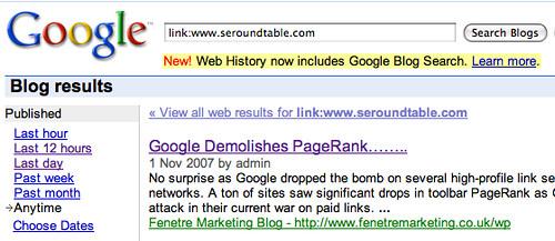 Google Blog History