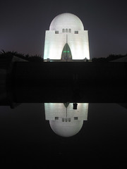 Mazar-e-Quaid (Raja Islam) Tags: pakistan light monument great ali leader karachi baba quaid muhammad jinnah mazar mazarequaid