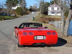 Thompson's 057 (redvette) Tags: corvette rivervalleyvettes redvette tomhiltz