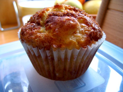 Apple and cinnamon muffins, improved