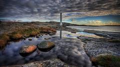 Fot once more (u n c o m m o n) Tags: sky water clouds reflections sweden canon350d frontpage hdr uncommon photomatix sigma1020 tonemapped 3exp fot 169crop marcusclaesson