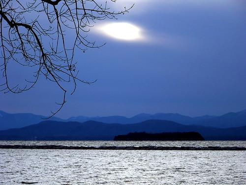 Moonlight over Vermont