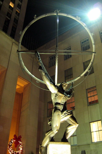 NYC - Rockefeller Plaza - Atlas: Wally Gobetz (note: image unrelated to publication)