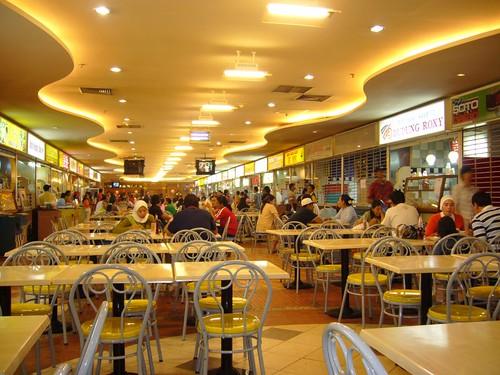 Food court of Mal Ambassador, Kuningan, Jakarta, Indonesia