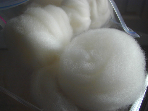 Hand-combed Cormo lamb