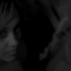 Velvet/een (Lumase) Tags: portrait blackandwhite bw woman square velvet velveteen polaris everlasting palabra 500x500 lumase luigimasella infinestyle ritrattidiof