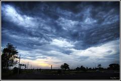 We might get rain (Kaj Bjurman) Tags: brazil sky rain weather brasil clouds eos hdr kaj cs3 photomatix 40d bjurman