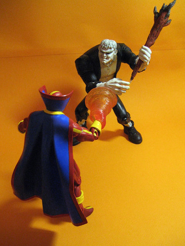 Red Tornado vs. Grundy