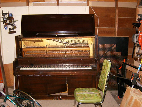 rescued piano
