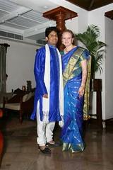 Beverley and Sunil (beverleysutherland) Tags: wedding sunil cochin beverley tajmalabarhotel