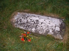 Cadet Guthrie's lonely grave