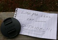 Lens Cap Mishap #29