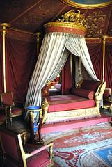 Napoleon's bedroom (jmvnoos in Paris) Tags: paris france castle bed bedroom nikon palace 100views napoleon 400views 300views 200views lit 500views d200 chateau chambre chteau 800views 600views 700views malmaison napolon rueilmalmaison views300 jmvnoos naploleon