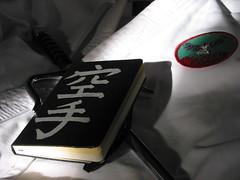 moleskine phoenix notebook japanese journal martialarts karate kanji weapon patch sai sunbeam gi oliveri shuriryu dojopatch