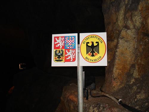 Der unterirdischen Grenzübergang