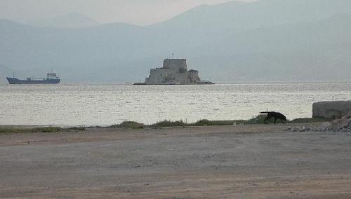 Fortaleza de Boutsi, Nauplio, Peloponeso, Grecia