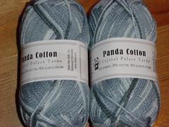 Panda cotton