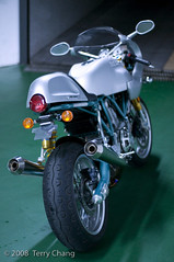 Ducati Paul Smart Imola Edition (Lox & Cream Cheese) Tags: sexy green classic bike vintage silver aqua ride ss twin motorbike motorcycle ducati limited edition 1000 racer desmo bevel imola paulsmart twowheels ohlins bikerlife