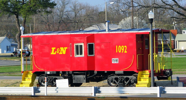 Tullahoma's L&N Caboose (2008)