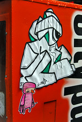 I get by with a little help from my friends... (damonabnormal) Tags: streetart philadelphia graffiti nikon sticker 33 label stickers urbanart april labels philly slap alb 2008 phl 08 215 slaps uwp citystickers philadelphiastreetart philadelphiagraffiti philadelphiaartist