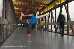 dancing at waterfront (denisenicole) Tags: yoga lululemon waterfrontstation