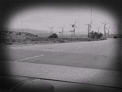 Wind Generators Near Palm Springs (kavehkhkh) Tags: california road goofy video wind palmsprings turbines morricone