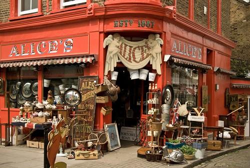 Alice's, Portobello Road