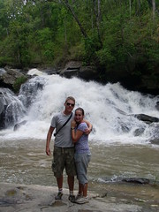 Waterfall (Krystal & Erik) Tags: trek thailand hike mai jungle chiang