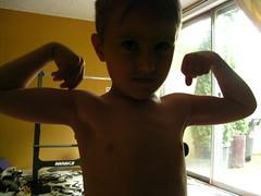 feel my muscles