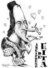 HITA, Arcipreste de (Morales de los Ros) Tags: writers caricaturas philosophers caricatures escritores filsofos