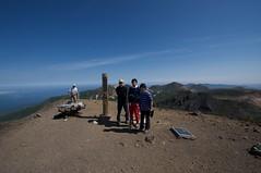北海道最高峰に登頂