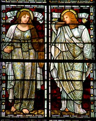 Mary of Bethany, Mary Magdalene (robin.croft) Tags: cathedral stainedglass salisbury