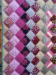 Boston Common Quilt (rosecoloredquilts) Tags: quilt purple bostoncommon kaffe fassett annamariahorner voile amybutler velveteen loominous loominous2 filigree dots stripe texture woven metallic leopard