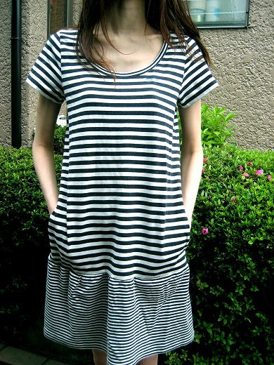 Striped Casual Dress from MILK FED