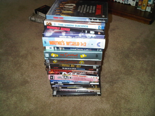 Day 8- 19 DVDs