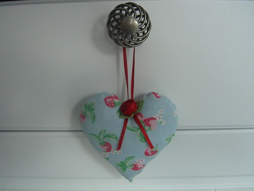 Cath Kidston Fabric Heart by Aunt Angie.