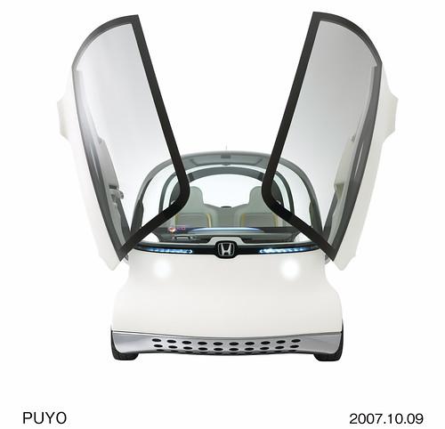 Фото Honda PUYO с открытыми дверьми