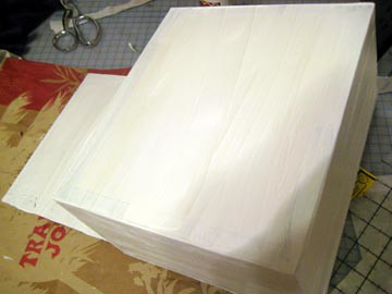 Cigar Box Painted White