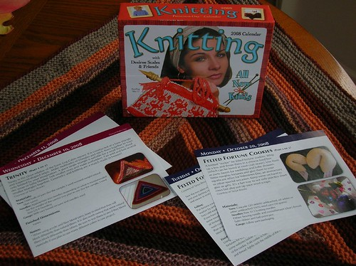 My patterns are in 2008 Knitting Pattern-A-Day Calendar