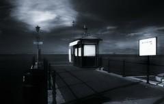 Imbarco (guiba6) Tags: leica lago wharf infrared obscure berth gardalake lagodigarda oscuro lazise oscurit hoyair72 elmarit24 leicam8 excellentphotographerawards alarecherchedutempperdu